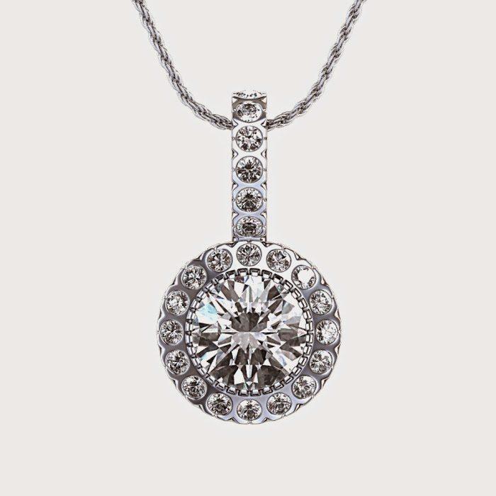 Висулки с диаманти