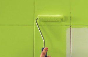 боядисване на фаянсови плочки