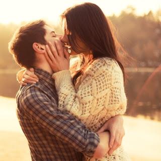 нежна целувка