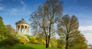 Английската градина в Мюнхен