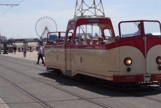 Блекпул – толкова различни трамваи