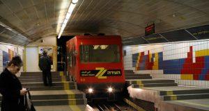 Най-малкото метро в света - Кармелит