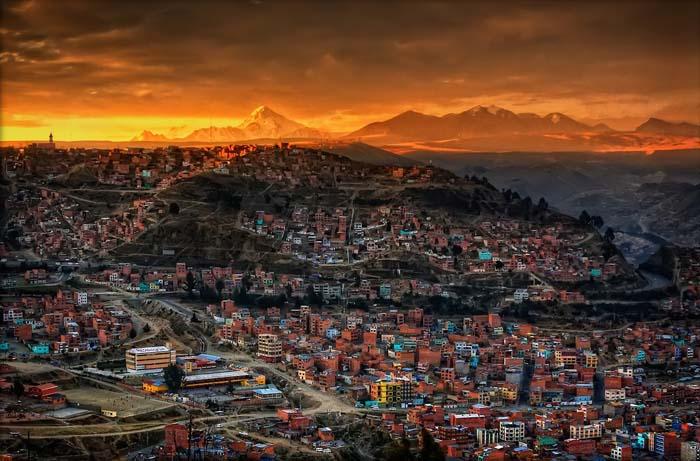 Ла Пас Боливия – най-високата столица в света