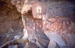 Пещерата на ръцете в Аржентина
